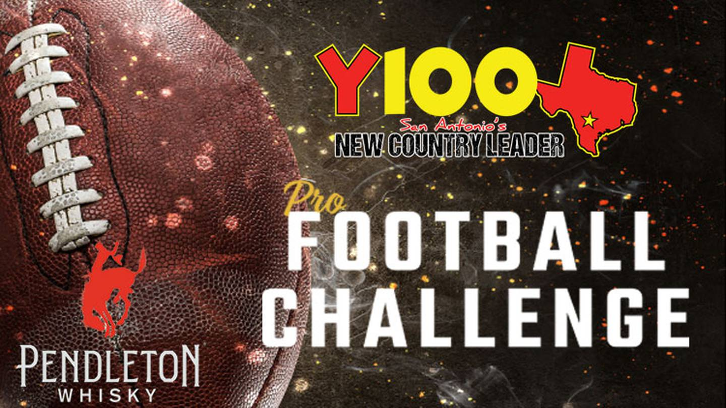 Make Your Pro Football Picks for a Chance at $50,000 with Y100!