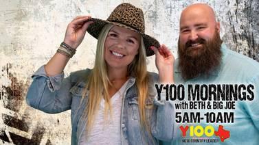 Y100 Mornings with Beth & Big Joe